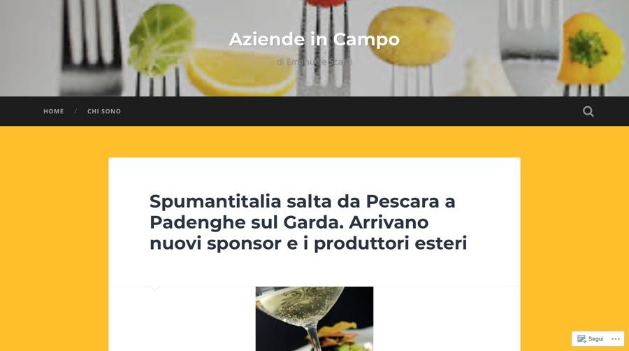 AZIENDE IN CAMPO: Spumantitalia salta da Pescara a Padenghe sul Garda. Arrivano nuovi sponsor e i produttori esteri