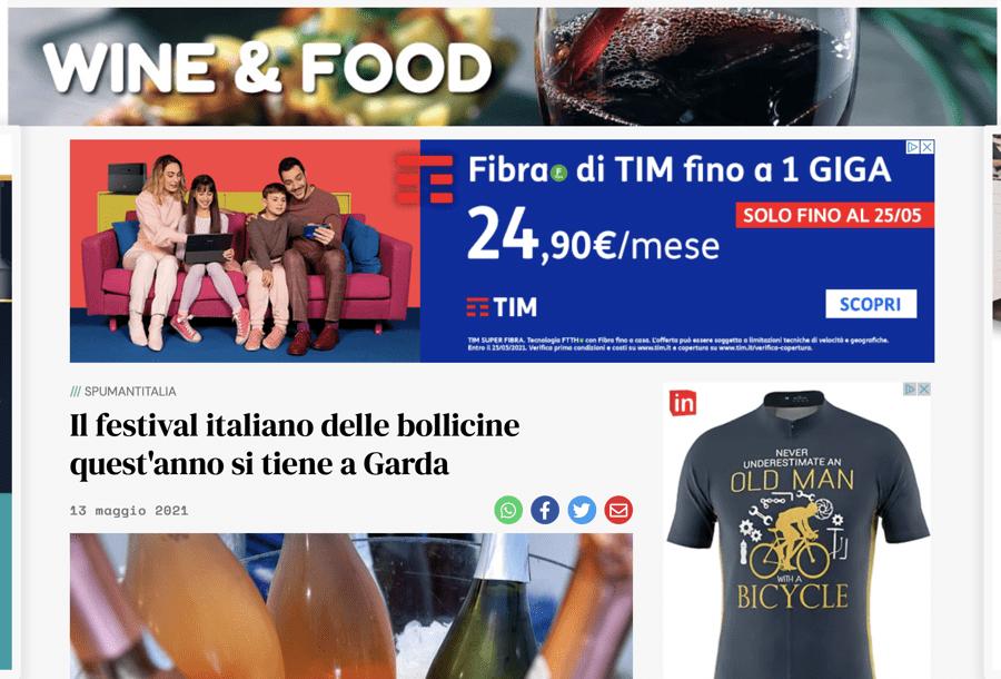 L'ARENA: Il festival italiano delle bollicine quest'anno si tiene a Garda