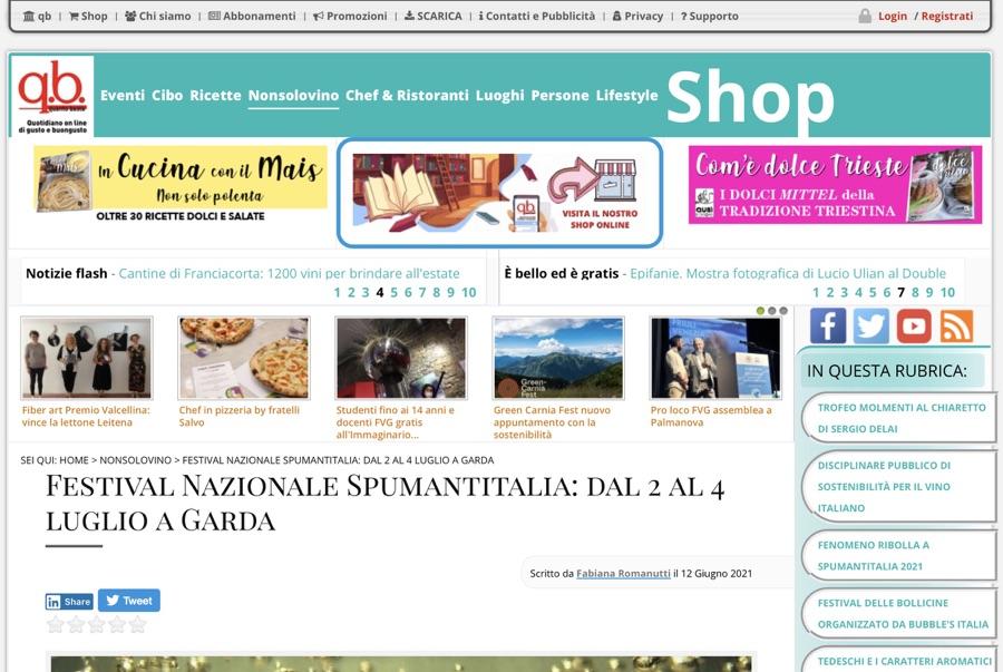Quantobasta.it: Festival Nazionale Spumantitalia: dal 2 al 4 luglio a Garda